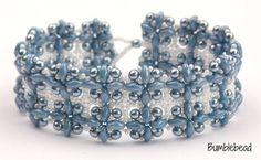 Hashtag pulsera collar y pendientes colección por BumblebeadCrafts