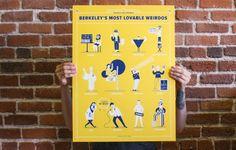 Berkeley's Most Lovable Weirdos Poster