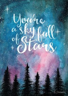 Star Painting, Galaxy Painting, Night Sky Painting, Cute Wallpapers, Wallpaper Backgrounds, Galaxy Wallpaper Quotes, Wallpaper Samsung, Image Pastel, Galaxy Quotes