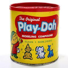 Play-Doh - a fun little mini-history