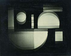 Kurt Schwerdtfeger, Reflecting Light Games, 1922/1923 Bauhaus University Weimar, Archiv der  Moderne (BA XI/9)