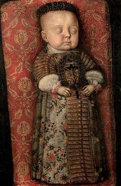 Totenbildnis des Prinzen Moritz von Sachsen-Zeitz (1652-1653)  [Museum Schloss Moritzburg Zeitz]