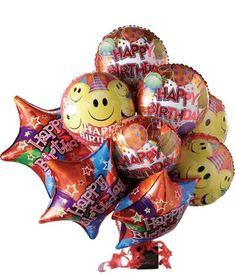 Candy Bouquet | Candy Delivery | FromYouFlowers Balloon Box, Mylar Balloons, Balloon Bouquet, Candy Delivery, Balloon Delivery, Candy Gift Baskets, Candy Gifts, Birthday Candy, Happy Birthday Balloons