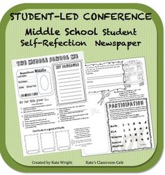 Student-led Conference Activity for Middle School