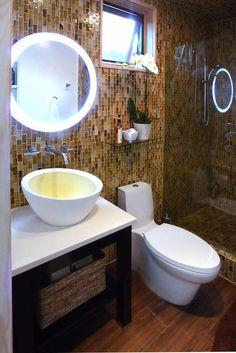 contemporary bathroom by Urban Oasis