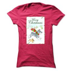 (Top Tshirt Choice) Schnauzer Merry Christmas [Hot Discount Today] Hoodies