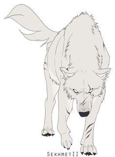 Wolves / white wolf / (SekhmetII by Naviira.deviantart.com on @DeviantArt)
