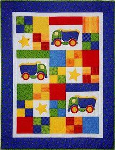 - Toy Trucks Quilt Pattern - at The Virginia Quilter