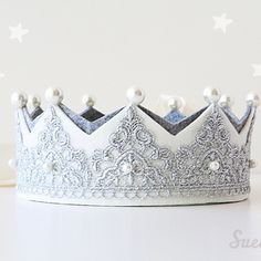 Mary Antoinette Crown Silver by Suella for kids