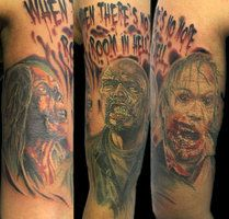 land of the dead tattoos