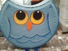 Painted Bricks Crafts, Brick Crafts, Wood Block Crafts, Concrete Crafts, Stone Crafts, Cement Pavers, Painted Pavers, Painted Rocks, Brick Pavers