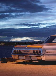 Impala lifestyle, late night cruising