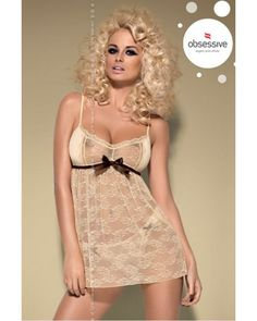 Caramella Babydoll http://www.avenue-privee.com/nuisette-sexy-pas-cher/20954-caramella-babydoll-obsessive.html