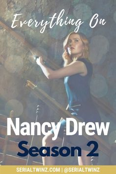 NANCY DREW SEASON 2 | If you're a fan of the CW fantasy, mystery, horror, drama Nancy Drew and you can't wait for the show to return on January 2021, this is for you. Check out our blog post on everything about Nancy Drew Season 2, starring the talented Kennedy McMann, Maddison Jaizani, Leah Lewis and more: news, cast, plot, spoilers, S1 Recap, trailer, promo, and more | #NancyDrew #DrewCrew #NancyDrewS2 #TheCW Cw Tv Series, Marvel Series, Drama Series, Book Series, Scott Wolf, Ally Mcbeal, Nancy Drew Books, Famous In Love, Devious Maids