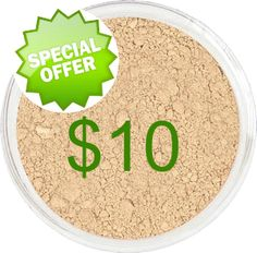 Studio Mineral Makeup - $10 Foundation Special / Full Size Foundations are On Sale!, $10.00 (http://www.studiomineralmakeup.com/bestsellers/10-foundation-special-full-size-foundations-are-on-sale/?utm_campaign=june 23-27, 2015 $10 foundation sale