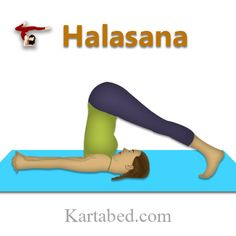 Halasana Improves digestion and appetite. Effective in Weight Loss. Strengthens the abdominal muscles. Beneficial for diabetic people. Those people should do this regularly. It helps to make spinal cord strong and flexible. Cures the symptoms of menopause. It helps to reduce stress. It normalizes blood-glucose level and stimulates the internal organs. It stimulates the reproductive organs. #Yoga #Healthy #Body #Mind #practiceyoga #StayingFit