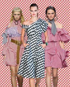 O bom dia deste domingo tem #modacomglamour. Para montar um look alegre para curtir o finde invista na estampa vichy -- que é a cara do verão! Clique no link da nossa bio para saber mais sobre essa tendência que Brigitte Bardot ama (e nós também ).  via GLAMOUR BRASIL MAGAZINE OFFICIAL INSTAGRAM - Celebrity  Fashion  Haute Couture  Advertising  Culture  Beauty  Editorial Photography  Magazine Covers  Supermodels  Runway Models