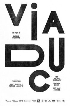 Creative Typography, Viaduc, Film, Poster, and Serie image ideas & inspiration on Designspiration Cover Design, Graphisches Design, Design Logo, Swiss Design, Design Ideas, Layout Design, Lettering, Typography Letters, Creative Typography