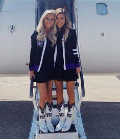 "Samantha DeJohn on Instagram: ""Where I wish I was: on a plane to New York with my best friend @nataliebstephens 🥺"" My Best Friend, Best Friends, Cheerleading, I Am Awesome, Rain Jacket, Windbreaker, Plane, Jackets, York"