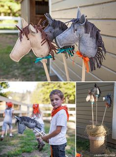 Farm Birthday Party Planning Ideas Supplies Idea Cowboy Decorations love this idea to give as favors Horse Birthday Parties, Cowboy Birthday Party, Cowgirl Party, Farm Birthday, Animal Birthday, Birthday Party Themes, Pony Ride Birthday Party, Cowboy Party Games, Farm Party Games