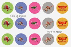 I like big freebies: Planes 2 Fire and Rescue bottle cap images