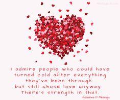 Choosing love anyway Choose Love, Inspirational Quotes, Life Coach Quotes, Inspiring Quotes, Quotes Inspirational, Inspirational Quotes About, Encourage Quotes, Inspiration Quotes, Motivation Quotes