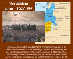 "5-30-15, Gatestone -- Turkish Fantasy: Turkey's President Erdogan, says that Jerusalem, built a millennium ** before the birth of Islam**, is originally a Muslim city. It is as if Jerusalem did not exist before 1187.. but the Islamic talking points are that Israel is ""occupied."" Apparently he thinks he's the 21st-century reincarnation of the ancient Turk, Saladin. [Jerusalem exists since 1000 before Christ] http://www.ancient.eu/jerusalem/"