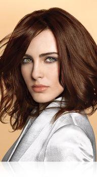 Medium Chesnut Brown Hair Color