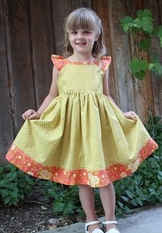 AtSecondStreet simple raglan sun dress tutorial and free pattern