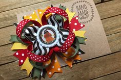 Thanksgiving Turkey Hair Bow, Colorful and Cute Hair Bow , Turkey Day Bow , Fall Hair Bow, Thanksgiving Hair Clip Thanksgiving Hair Bows, Thanksgiving Turkey, Perfect Turkey, Pink Hair Bows, Fall Hair, Cute Hairstyles, Hair Clips, Colorful, Etsy