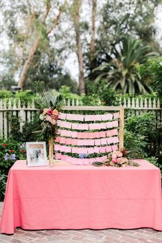 Tropical coral garden wedding my lovely events vintage rentals wedding planning mccormick home ranch escort card display Card Table Wedding, Wedding Cards, Wedding Bells, Destination Wedding, Wedding Planning, Wedding Ideas, Wedding Centerpieces, Wedding Decorations, Tropical Wedding Decor