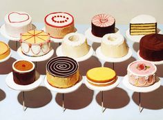 Explore the best Wayne Thiebaud quotes here at OpenQuotes. Quotations, aphorisms and citations by Wayne Thiebaud Wayne Thiebaud Cakes, Food Painting, Cake Painting, Wedding Cake Flavors, Wedding Cakes, Painted Cakes, Good Enough To Eat, Food Illustrations, Elementary Art