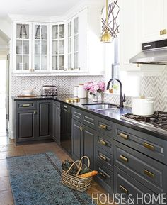 New Hardware is probably the first thing a prospective homeowner will touch, and it will leave a lasting impression.    Photographer: Donna Griffith  Designer: Feasby & Bleeks Design