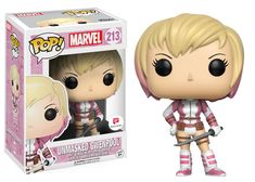 "Wobblers: Marvel Avengers Steve Rogers and Tony Stark are coming as Wobblers! Iron Man and Captain America stand 6"" tall and combine the style ofPop! with the classic wobble of bobble-heads! Coming in January!   Pop! Marvel: GwenPool Gwen Poole, aka GwenP"