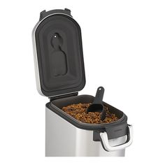 simplehuman® Pet Food Container in Pet Accessories   Crate and Barrel