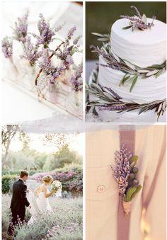 Flores para boda Lavanda