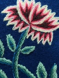 Scandinavian, Needlework, All Things, Textiles, Jewellery, Embroidery, Floral, Flowers, Embroidery Stitches