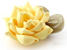 ribbon flower tutorials