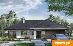 DOM.PL™ - Projekt domu AN TYMOTEUSZ G2 CE - DOM AO10-56 - gotowy koszt budowy How To Plan, Outdoor Decor, Home Decor, Houses, Interior Design, Home Interior Design, Home Decoration, Decoration Home, Interior Decorating