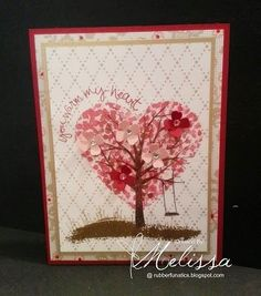 Stampin' Up! Sheltering Tree by Melissa Davies @rubberfunatics @stampinup #rubberfunatics #stampinup