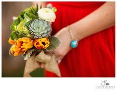 Cassie Madden Photography   Wedding Photography   Southwest Weddings   Wedding Details   Bridesmaid    Bouquet   Tubac, Arizona