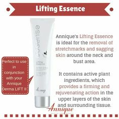 Lifting Essence was developed to help lift and firm bust, neck and upper arms- have you tried it? Send us your testimonials!