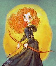 Brave : Merida by artspell.deviantart.com on @deviantART