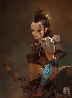ArtStation - Lucia Illustration, Kan Liu(666K信譞)