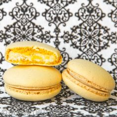Ricotta Mascarpone Limoncello filling for Macarons