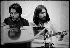 Paul McCartney & George Harrison. 1969   via Beatle Love ~ Cityhaüs Design