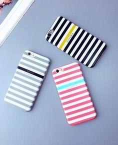 New Fashion design print stripe Plastic Case Cover iPhone7 7plus 6 Plus 6-05005