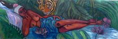 My name´s Lolita from Limerick    Oil on canvas 177.5 x 60 cm
