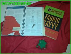 "#TipTuesday Fabric Savvy  The ""Fabric Savvy"" series by Sandra Betzina is totally worth tracking down...fabric type is matched with tips for working with it, from needle type to thread to stitch length to hemming and seam finishing. It makes such a difference when you know in advance!  (The first one seems to be out of print but don't hesitate to pick it up used!)"