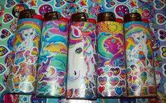 lisa frank is a dphie alum (: Studio Ghibli, Cool Lighters, Custom Lighters, Bic Lighter, Lighter Case, Lisa Frank Stickers, Kawaii, Stoner Gifts, Bongs